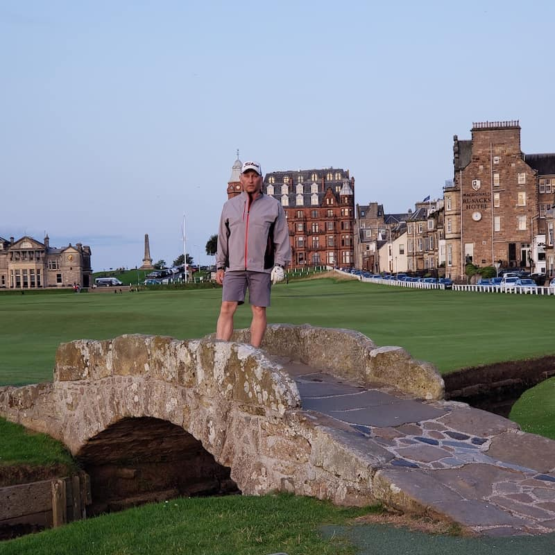 BallotBuddy - Playing the Old Course August 19