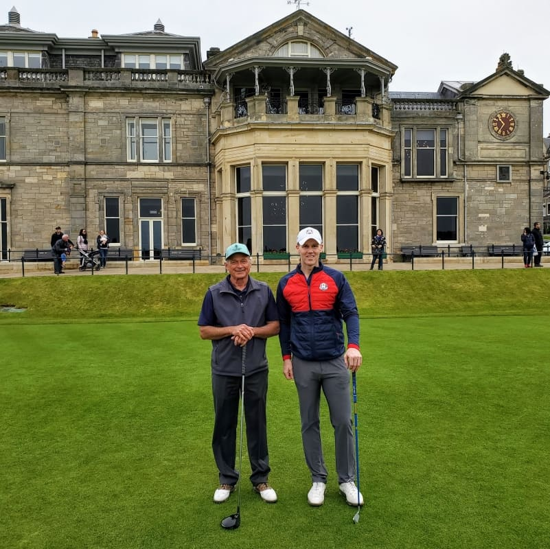 BallotBuddy - Playing the Old Course May 19