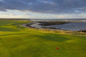 Crail Balcomie 4th tee