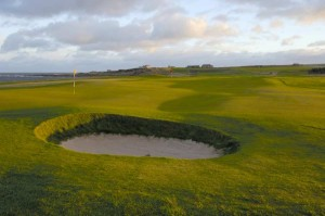 Crail Balcomie double green 8th and 11th