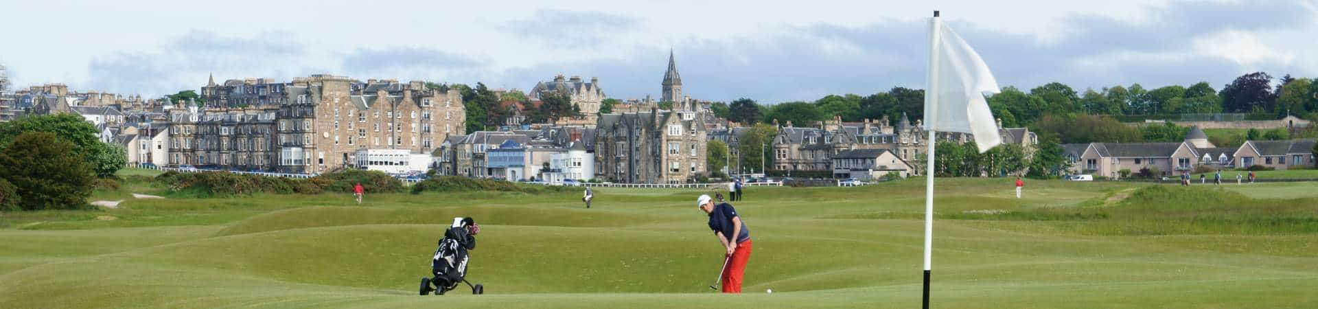 A successful St Andrews Old Course Ballot - Ginger Beer Golf client