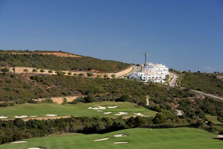 Finca Cortesin - Practice range (14th green behind)