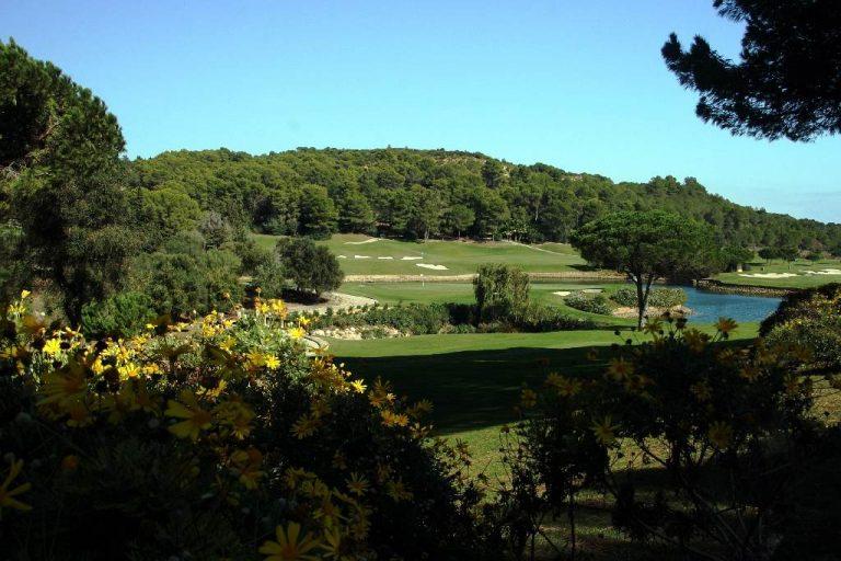 La Reserva - Hole 16 tee (15 & 11 greens in background)