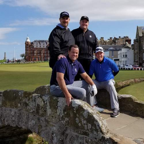 M Sylvester, Old Course St Andrews