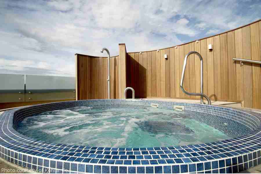 Old Course Hotel - Rooftop Hot Tub
