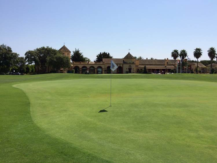 San Roque Old Course Clubhouse
