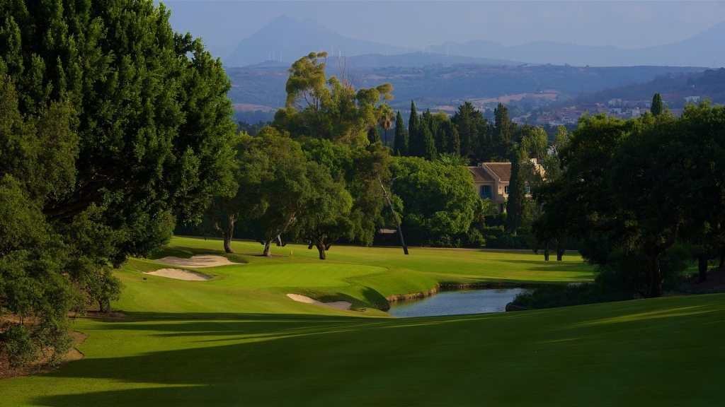 Sotogrande 7th approach