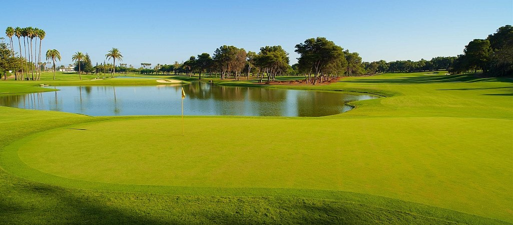 Sotogrande 16th green