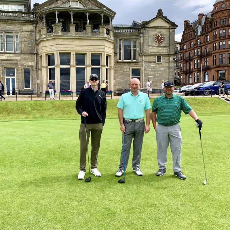 BallotBuddy - Playing the Old Course July 19