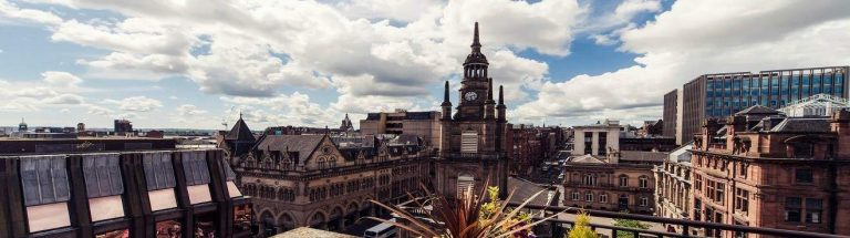 Carlton George Hotel Glasgow - rooftop