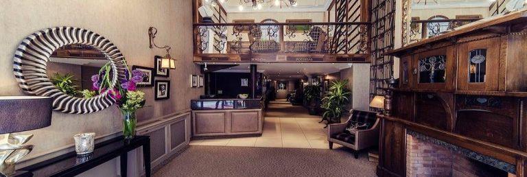Carlton George Hotel Glasgow - lobby