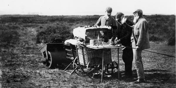 Refreshments Barrow, 4th hole St Andrews Old Course - Ginger Beer - 1900