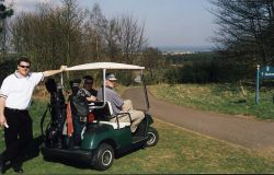 St Andrews Duke's Course - with buggy
