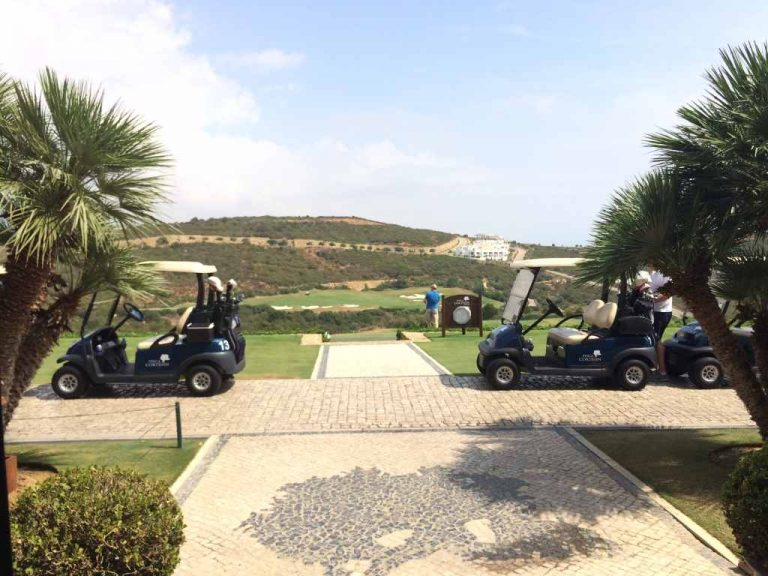 Finca Cortesin - Practice area from clubhouse