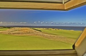 Kingsbarns - view from the gentlemen's toilet window