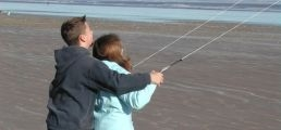 Guide to St Andrews - West Sands beach kiting, St Andrews