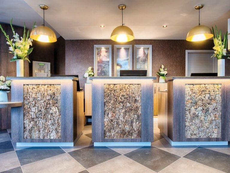Leonardo Royal Hotel Edinburgh - front office