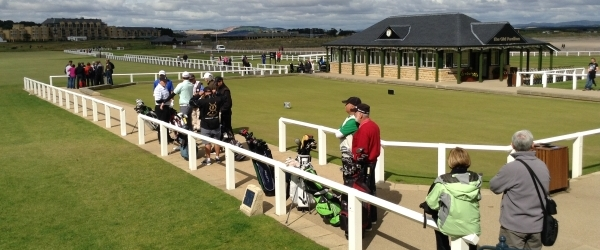 Old Course St Andrews, queue for play