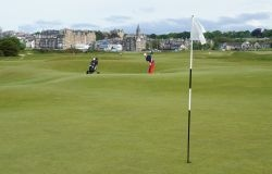 Scottish Links Golf - St Andrews Old Course - putting