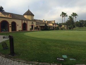 San Roque Club practice putting green