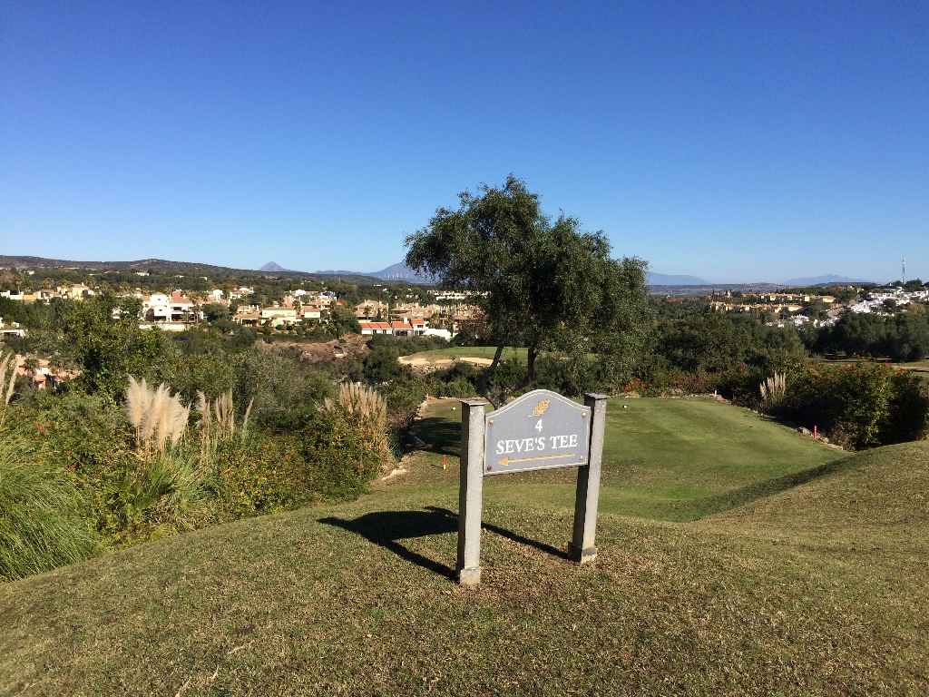 San Roque New Course - Hole 4 Seve's tee