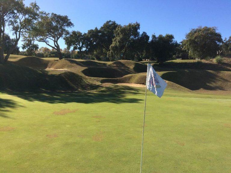 San Roque New Course - Hole 9
