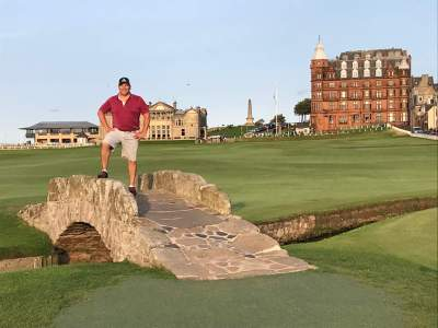 Greg F: Single golfer - St Andrews Old Course